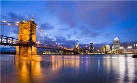Bridge view Cincinnati