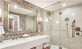 Washroom in The Lytle Park hotel, Cincinnati